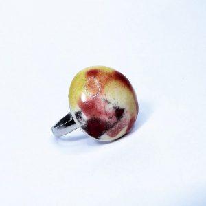 Egyedi különleges mintájú kerámia gyűrű