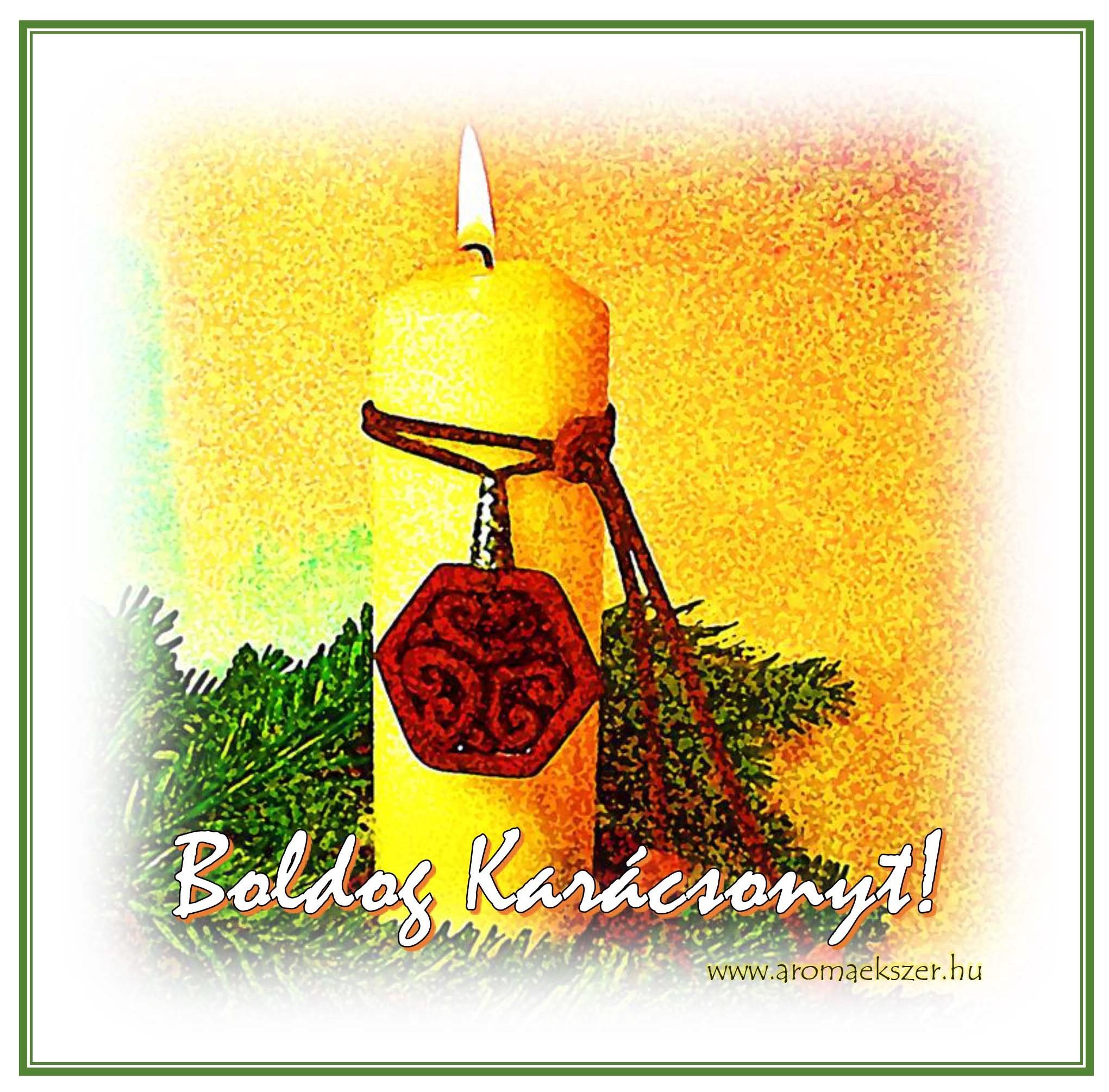 Boldog Karácsonyt! - www.aromaekszer.hu