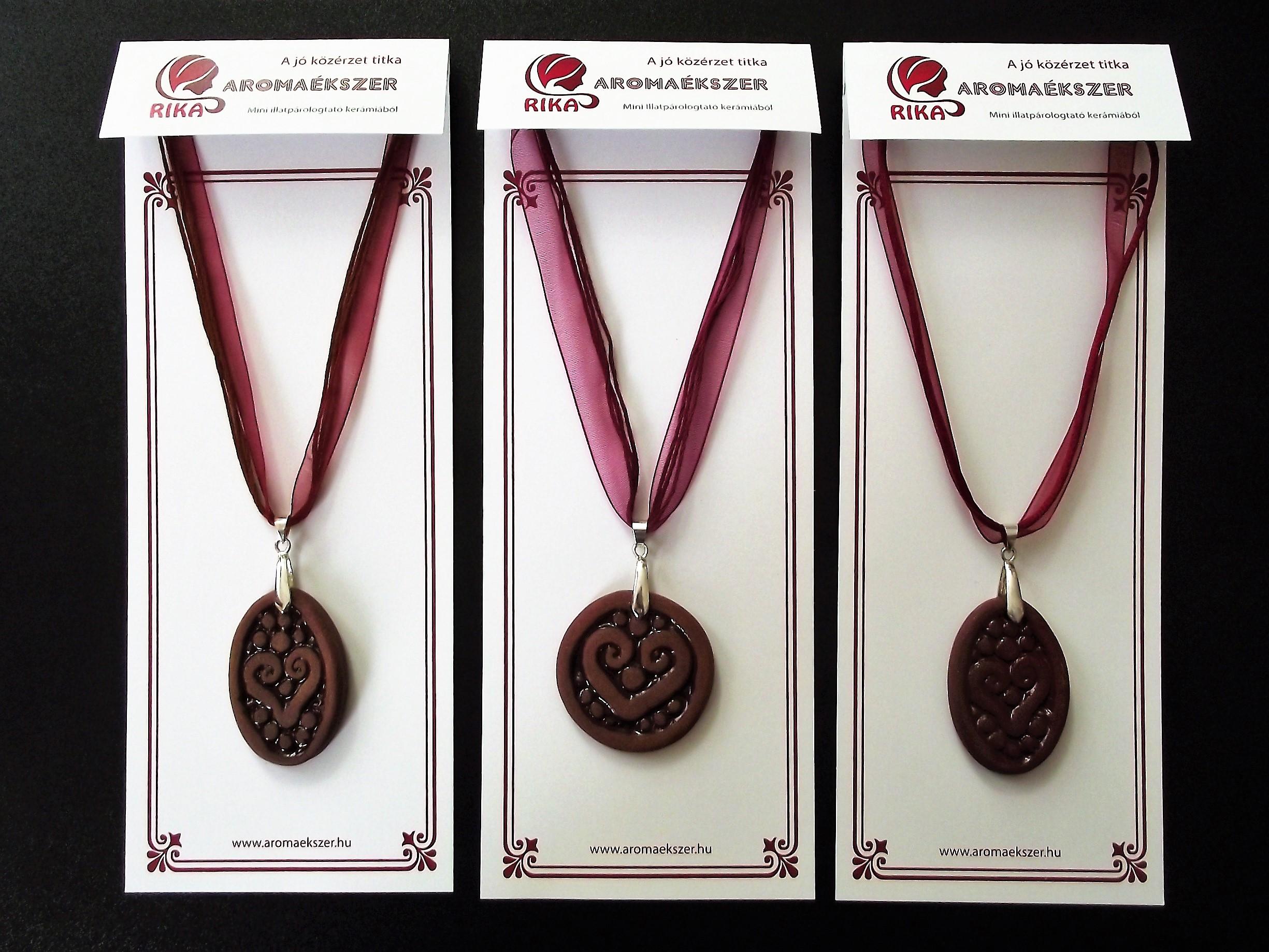 Organza szalagos nyakláncalapok RIKA AromaÉkszer medálokhoz