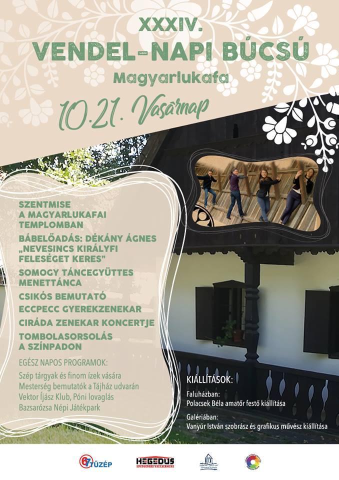 Magyarlukafa - Vendel Napi Búcsú