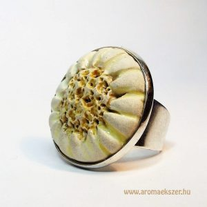 RIKA AromaÉkszer - Kezdetek kollekció - Illatosítható kerámia gyűrű