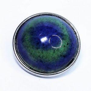 Kék-zöld mázas kerámia patent