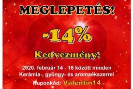 Valentin napi meglepetés - www.aromaekszer.hu