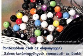 Itt az új kollekció alapanyag - www.aromaekszer.hu