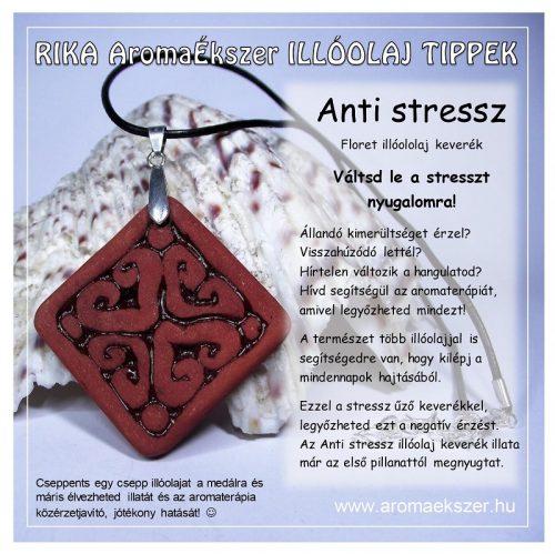 RIKA AromaÉkszer - Illóolaj tippek - Anti stressz illóolaj keverék