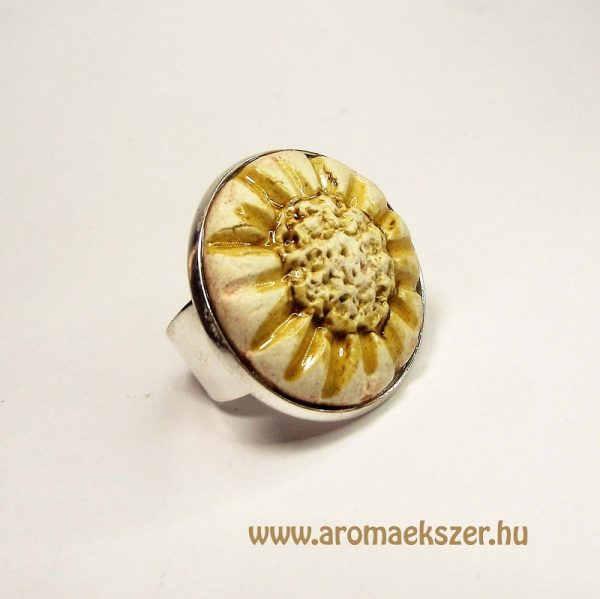 RIKA AromaÉkszer - Kezdetek kollekció - Illatosítható kerámiagyűrű